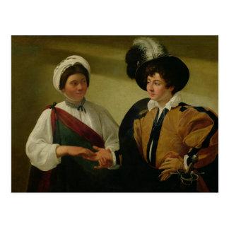 El adivino, c.1596-97 postal