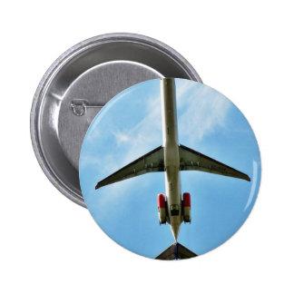 El aeroplano grande saca chapa redonda 5 cm