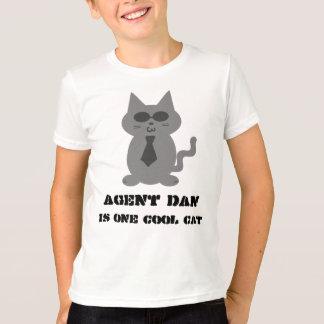 El agente Dan es una camiseta fresca del gato