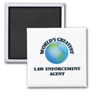El agente de aplicación más grande de la ley del imanes de nevera