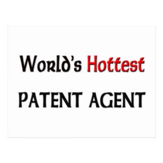 El agente de patente más caliente de los mundos postales