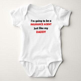 El agente de seguro tiene gusto de mi papá body para bebé