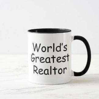 El agente inmobiliario más grande del mundo taza