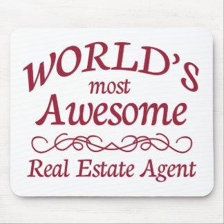 El agente inmobiliario más impresionante del mundo alfombrilla de ratón