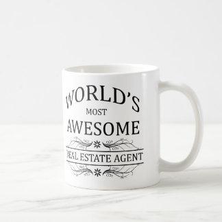 El agente inmobiliario más impresionante del mundo taza de café