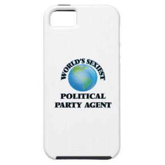 El agente más atractivo del fiesta político del iPhone 5 Case-Mate cobertura