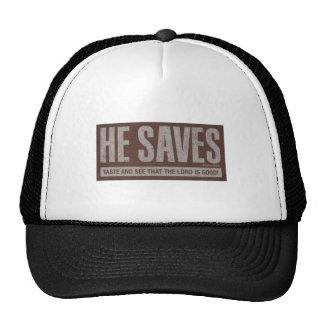 Él ahorra gorra