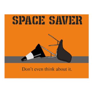 El ahorrador del espacio postal