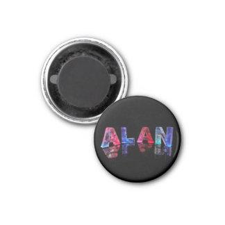 El Alan conocido en luces Imán
