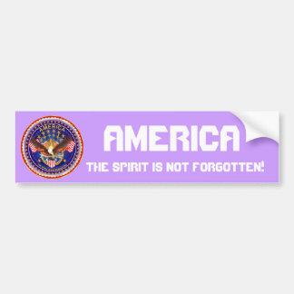 El alcohol de América no se olvida por favor consi Pegatina Para Coche