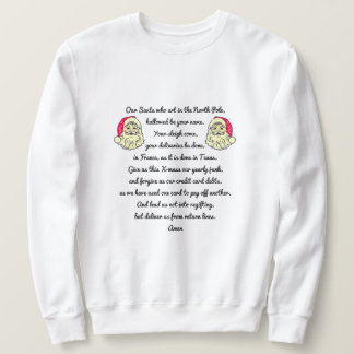 El alcohol del suéter feo del navidad