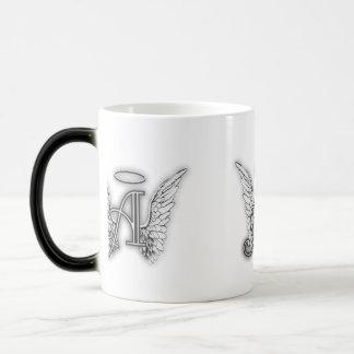 El alfabeto del ángel este último inicial se va taza mágica