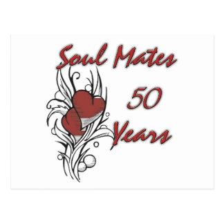 El alma acopla 50 años postal
