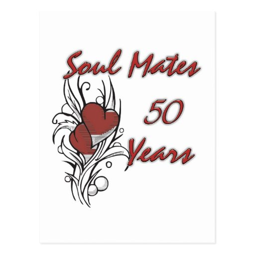 El alma acopla 50 años postales