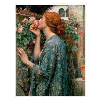 El alma del color de rosa, 1908 postal