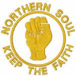 El alma septentrional bordada guarda la sudadera c