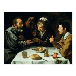 El almuerzo, 1620 postal