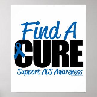 El ALS encuentra una curación Impresiones