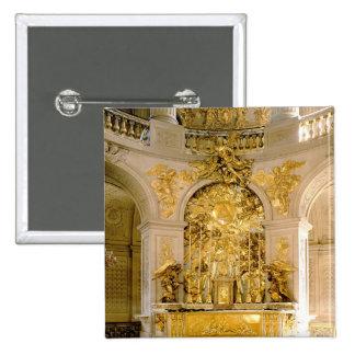 El altar en la capilla real (foto) chapa cuadrada 5 cm