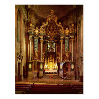 El alto altar en el coro del este tarjetas postales