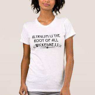 El altruismo es camiseta traviesa