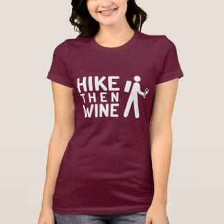El alza entonces Wine camiseta (el gráfico blanco)