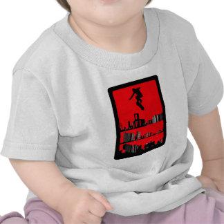 El amanecer rojo camisetas