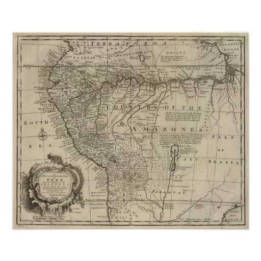 El Amazonas en Perú Posters