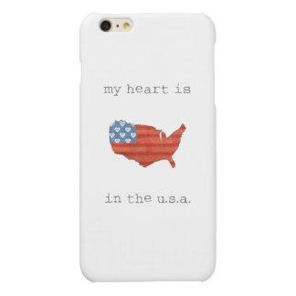 El | americana mi corazón está en el mapa de los