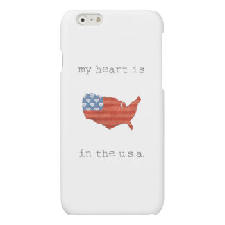 El   americana mi corazón está en el mapa de los