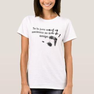 El amigo mecánico camiseta