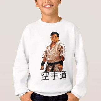 El amo de un karate sudadera