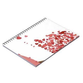 El amor baja cuaderno