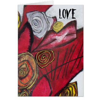 El AMOR besa la tarjeta