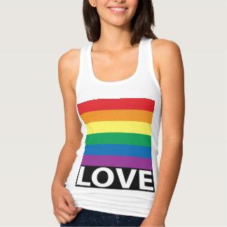 El amor bonito del arco iris, orgullo, LGBT, Camiseta Con Tirantes