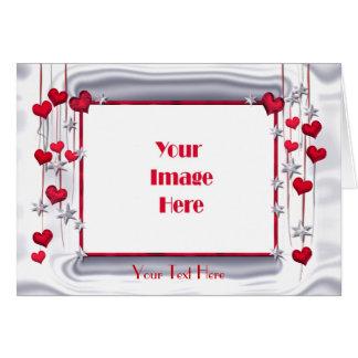 El amor brilla a la tarjeta del día de San