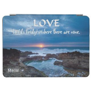 El amor construye las cubiertas de encargo del cover de iPad air