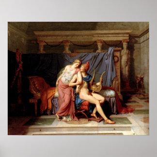 El amor de Helen y de París Póster