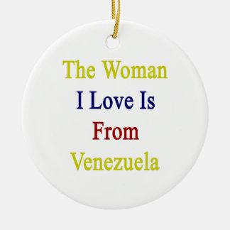 El amor de la mujer I es de Venezuela Adorno Para Reyes