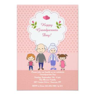 El amor de los abuelos es sin fin invitación 12,7 x 17,8 cm