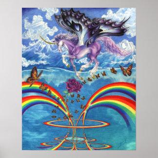El amor de un unicornio póster
