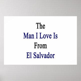 El amor del hombre I es de El Salvador Posters