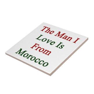 El amor del hombre I es de Marruecos Azulejo
