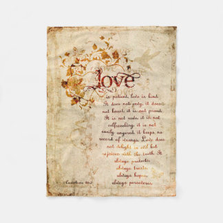 El amor del KRW es manta de la cita de la biblia