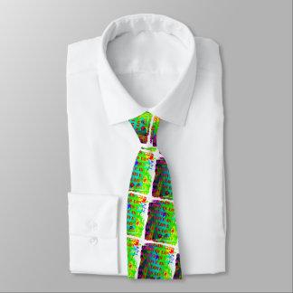 El amor dramático es diseño del arte de la corbatas personalizadas