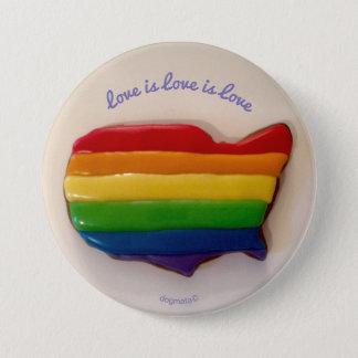 El amor es amor es botón del amor