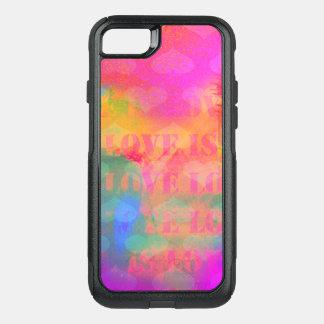 El amor es amor funda commuter de OtterBox para iPhone 7