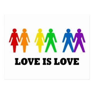 El amor es amor postal