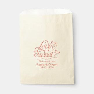 Bolsas de papel para bodas en Zazzle.
