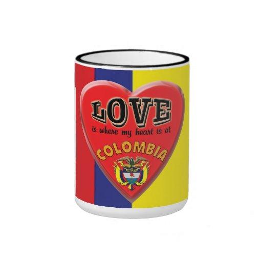 El amor es Colombia - taza de café